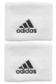 "Adidas Wristbands - 2.5"" White"