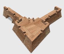 Four Cornered Fort Bastion Basic Set