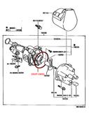22R 22RE Toyota Distributor Cap O-ring  19127-15021