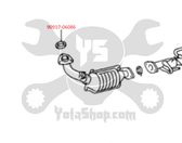 Toyota 4Runner, Tacoma, Tundra 3.4L 5VZ (1998-2004) Exhaust Gasket (Down Pipe To Crossover Pipe) EP15-1569