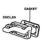 Toyota 22R 22RE EGR Cooler Crossover Plate Gasket - 11182-35050