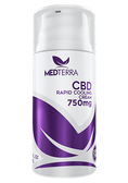 Medterra CBD Rapid Cooling Cream 750MG CBD