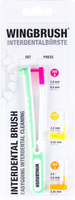 Wingbrush Interdental Brushes Starter Set (1 holder + 3 brushes)