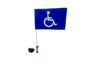 Golf Cart Handicap Flag Mount