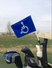 Handicap Flag Mount