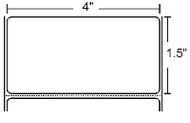 10010046 Zebra Z-Select 4000D 4x1.5 Paper Label 6/Case | 10010046