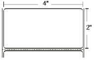 10009530 Zebra Z-Select 4000T 4x2 Paper Label 6/Case | 10009530