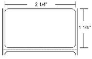 10010063 Zebra PolyPro 4000D 2.25x1.25 Synthetic Label 6/Case | 10010063
