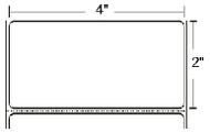 LD-R2AQ5J Zebra Z-Perform 1000D 4x2 Paper Label 36/Case | LD-R2AQ5J