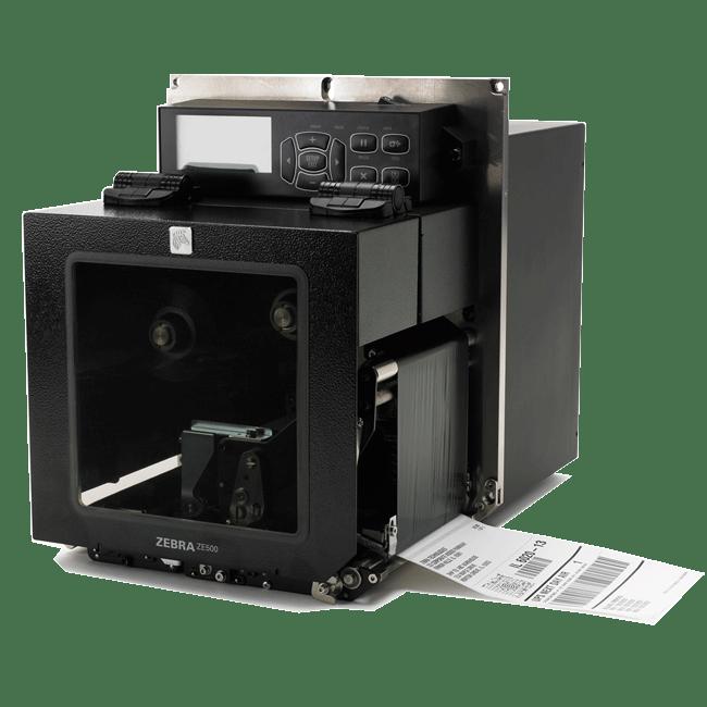 Zebra ZE500 Print Engine, 203dpi, Right Hand, 10/100 | ZE50042-R010000Z