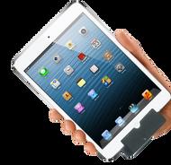 White iPad Mini with Infinea Tab M