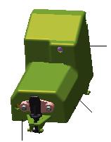 Kit Module Contact Station ZXP7 | P1037750-030