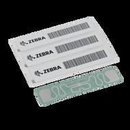 Zebra General Purpose RFID Label, Paper, 3x1in (76.2x25.4mm); TT, Z-Perform 1500T, Coated, Permanent Adhesive, 1000/roll, 2/box