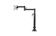 Kit includes floor mount base (17416), dual articulating arms with adjustable height and medium joiner (7110-1235), VESA 75/100 mm adapter plate (14140) - 7170-0590