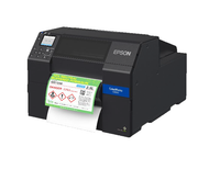 "Epson ColorWorks CW-C6000P 4"" color label printer - Peeler"