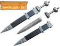"31"" 75MN Spring Steel BATTLE READY Roman Gladius Sword Maximus Gladiator Medieval Armor"