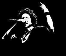 Rage against the machine - Zach De La Rocha t shirt