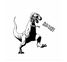 Dinosaur Rawr! t-shirt Perfect for the Palaeontology nerd!