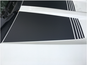 2016 Silverado Hood Recess Accent Stripe