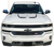 2016 2017 Silverado Inner Hood Stripe Accent Graphic