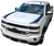 2016 2017 Silverado Outer Hood Stripe Accent Graphic