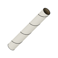 "Semroc Body Tube #5 4.0"" Long (same: BT-5-40)   SEM-ST-540 *"