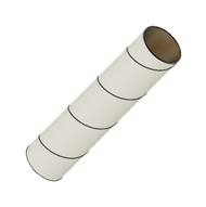 """Semroc Body Tube #8 4.0"""" Long   SEM-ST-840 *"""