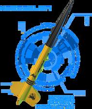 North Coast Rocketry Flying Model Rocket Kit  Hobgoblin  NCR 0207