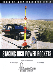 Book  Staging High Power Rockets  ARA 760449