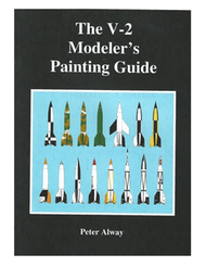 Book The V-2 Modeler's Painting Guide by Peter Alway  SAT 173