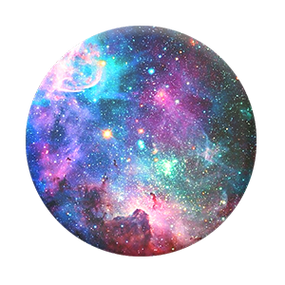 BLUE NEBULA POP SOCKET