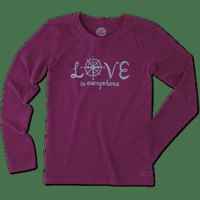 WMNS L/S LOVE EVERYWHERE