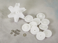 A&A 5 & 6 Port Top Feed Gear Kit | 522634