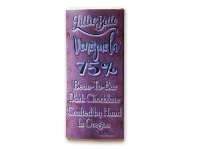 Little Lillie Mini Venezuelan 75% Bean to Bar Dark Chocolate