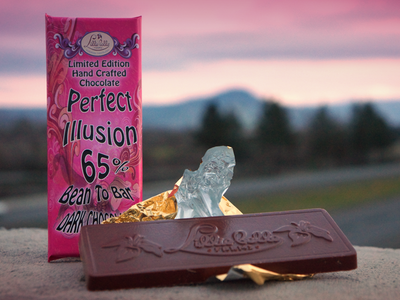 Organic Peruvian Dark Chocolate Bar