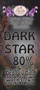 Dark Star - 80% Bean to Bar Dark Chocolate