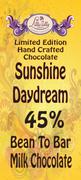 Sunshine Daydream - 45% Bean to Bar Milk Chocolate