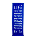 "Smile Banner 16""x48"""