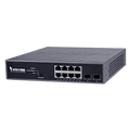 Vivotek AW-GEV-104B-130 8-Port VivoCam Web Smart Managed PoE Switch