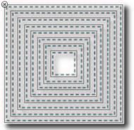 Tutti Designs Nesting Stitched squares Die (Tutti-218)
