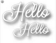 Tutti Designs Word Set - Hello Die (Tutti-240)