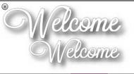Tutti Designs Word Set - Welcome Die (Tutti-242)