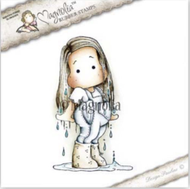 Magnolia Stamps - Get Well - Tilda In Water Puddles