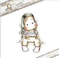 Magnolia Stamps - Get Well - Sweet Tilda With Band Aid
