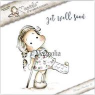 Magnolia Stamps - Get Well - Tilda With Broken Leg/Text