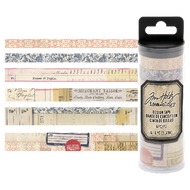 Tim Holtz Idea-Ology Design Tape 6/Pkg Merchant