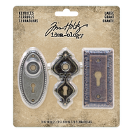 Tim Holtz Idea-Ology Large Metal Keyholes