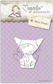 Magnolia DooHickey - You Are Invited - Baby Diaper