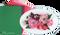 LeCrea Design Flower Foam Sheet Set - Red/Pink 1