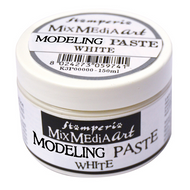 Stamperia - Modeling Paste - White